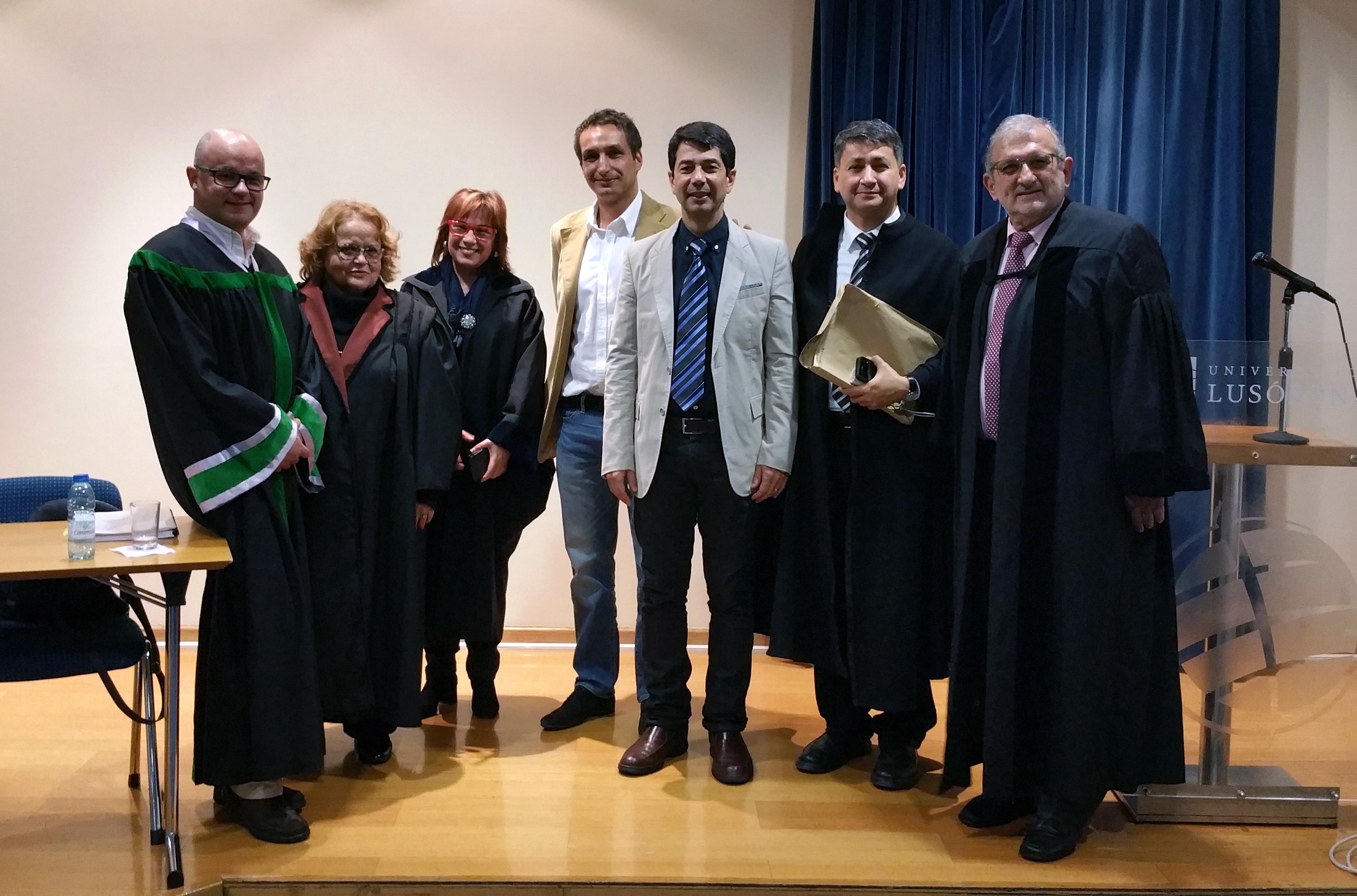 Paulo Moraes defendeu a sua tese de Doutoramento em Educação