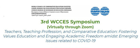 O CeiED organiza o 3rd WCCES Symposium (Virtually through Zoom) | Submissão de propostas